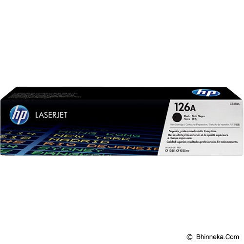 HP Black Toner 126A [CE310A] - Toner Printer Hp